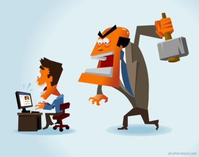 employee-facebook-boss-with-hammer